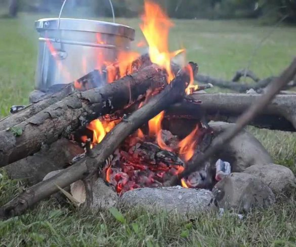Can you cook in a fire pit?